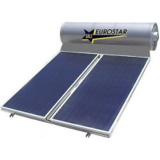 SOLE - EUROSTAR 200-2T-175  200lt/3.5m² Glass Διπλής Ενέργειας